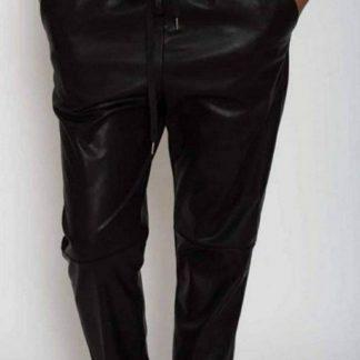 Pantaloni Imitatie Piele Dama